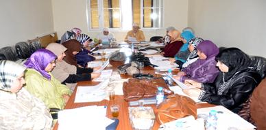 خلية شؤون المرأة وقضايا الأسرة  تنظم اجتماعا خاصا بالواعظات بمقر المجلس العلمي للناظور