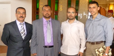 الأستاذ رشيد بودواسل ينال شهادة الدكتوراه في الآداب شعبة الدراسات الإسلامية