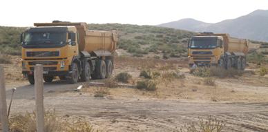 وكالة الحوض المائي تبرم عقد بيع مع مقاول لاستغلال حوض الرمال بدوار الركنة بحاسي بركان