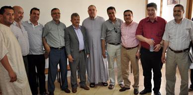 انتخاب مصطفى النجوم رئيسا للمكتب الإقليمي للهلال الأحمر المغربي بالناظور