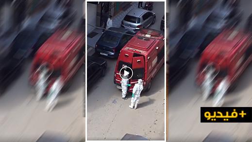 شاهدوا بالحسيمة.. نقل حالة مشتبه بإصابتها بفروس كورونا إلى المستشفى