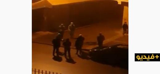 شاهدوا.. السلطات تعقم منزل وحي الشخص المصاب بفيروس كورونا بمدينة سلوان