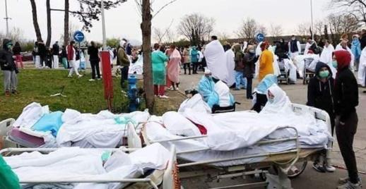 الزلزال وفيروس كورونا يتحالفان على كرواتيا.. مرضى ومصابون يقضون ليلتهم في العراء