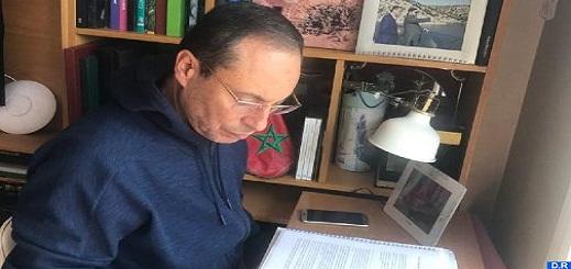 الوزير أعمارة ينفي الشائعات حول حالته الصحية بعد إصابته بفيروس كورونا