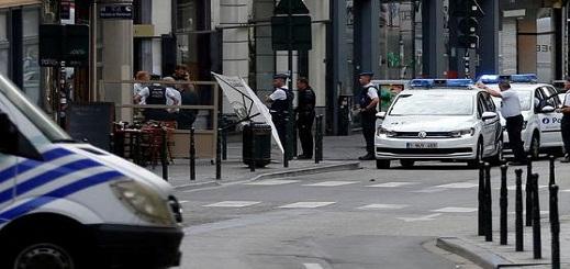 توقيف عشرات إثر أعمال شغب في بروكسل وسط الحجر المنزلي