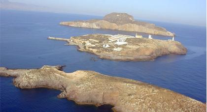 مدريد « تشيد» مركزا عسكريا في الجزر الجعفرية المقابلة لشاطئ الناظور