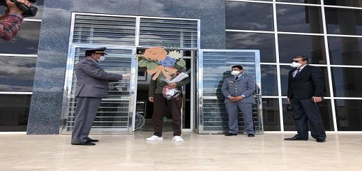 أول حالة شفاء من فيروس كورونا بإقليم الحسيمة تغادر مستشفى القرب بإمزورن