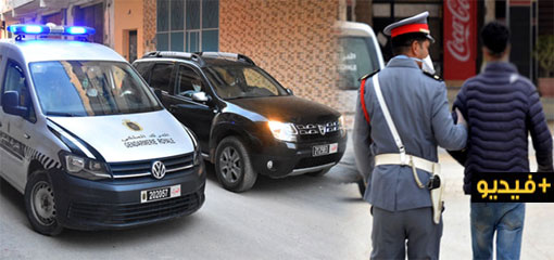بالفيديو.. سلطات مدينة بن الطيب تواصل حملات الاعتقال المخالفة لقانون الطوارئ بعد الساعة السادسة مساءا