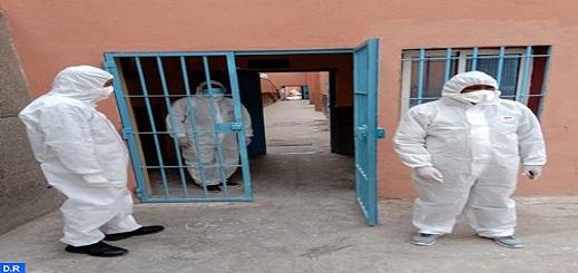 المؤسسات السجنية بجهة الشرق خالية من اي إصابة بفيروس كورونا