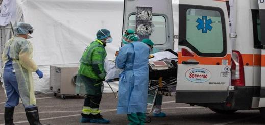 """إيطاليا.. الإصابات بـ""""كورونا"""" تتخطى 200 ألف بعد تسجيل 2091 حالة جديدة"""