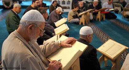 رمضان بمساجد ولاية رنانيا الشمالية بألمانيا
