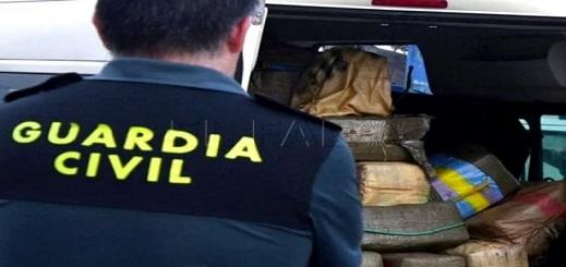 تفكيك شبكة إجرامية تنشط في تهريب والإتجار المخدرات بجنوب إسبانيا
