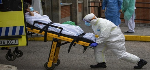 إسبانيا تسجل 164 وفاة بكورونا في أدنى حصيلة يومية لها
