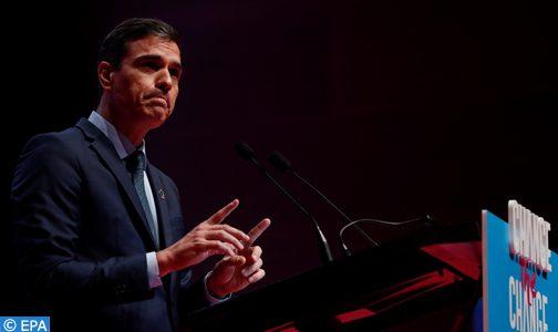 """رئيس الحكومة الإسبانية:  عدم تمديد حالة الطوارئ سيؤدي إلى """" فوضى صحية واقتصادية """" في البلاد"""