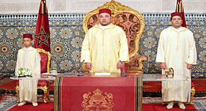 جلالة الملك يوجه خطابا ساميا الى الأمة بمناسبة عيد العرش المجيد