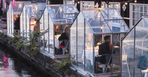 شاهدوا.. كورونا يغير عالم المطاعم! والبداية من هولندا