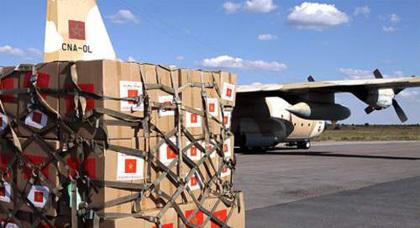 وصول الدفعة الأولى من المساعدات المغربية لفائدة اللاجئين السوريين بالأردن