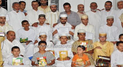 جمعية زيد بن ثابت بزايوتكرم طلبتها المتفوقين بجوائز تقديرية