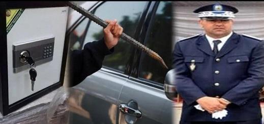 أمن العروي يفك لغز سرقة منزل والاستحواذ على خزنة مجوهرات وسيارة نفعية