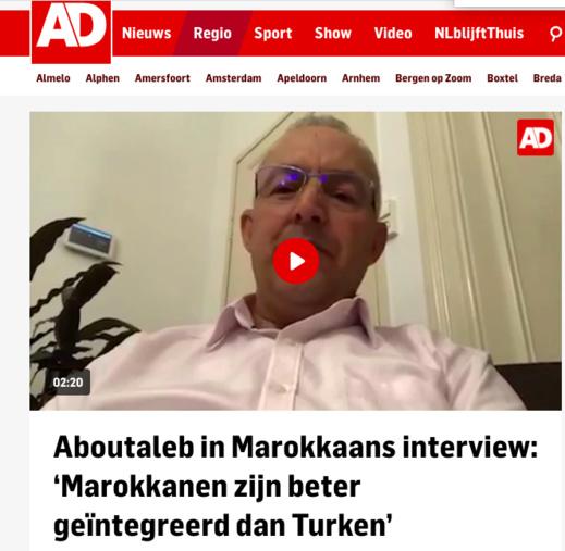 """لايف """"ناظورسيتي"""" مع أبو طالب يخلق جدلا محتدا في هولندا حول الجالية المغربية والتركية"""