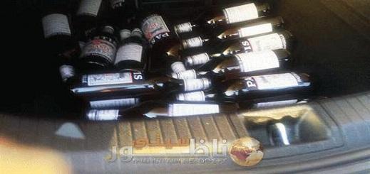 توقيف سيارة محملة بكمية كبيرة من الخمور والمخدرات بمدخل جماعة تيزطوطين