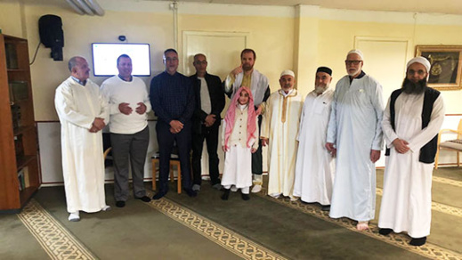 الجالية المغربية يؤدون صلاة عيد الفطر بالدنمارك في ظروف إستثنائية