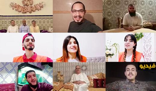 فنانون وإعلاميون وجمعويون من الناظور وأوروبا يقدمون تهاني العيد عبر ناظورسيتي