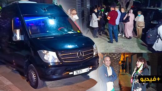 شاهدوا.. 28 من أفراد الجالية العالقين بالناظور يعودون الى إسبانيا عبر ميناء طنجة