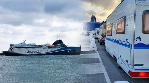 رحلة بحرية الى مدينة مارسيليا تعيد 500 شخص كانوا عالقين بالمغرب