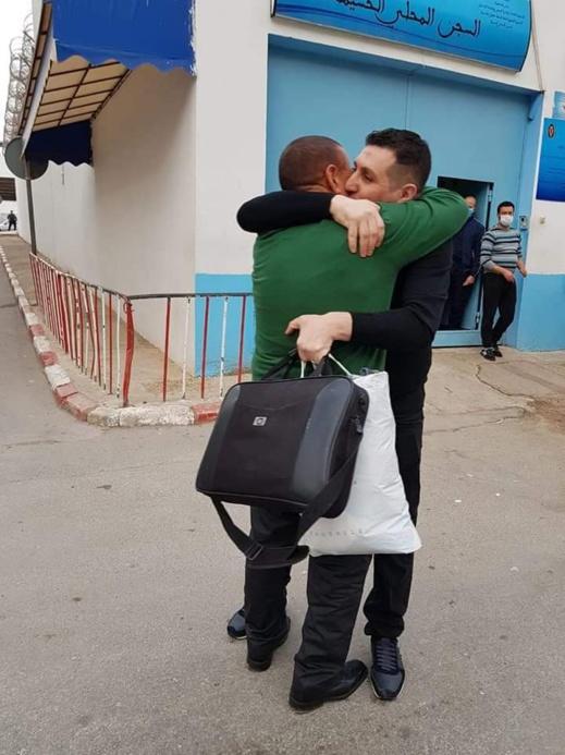 """يوسف الحمديوي معتقل """"حراك الريف"""" يغادر أسوار السجن"""