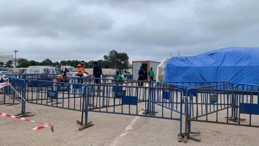 """السلطات الاسبانية تغلق """"مخيم"""" أحدث لإيواء المغاربة العالقين بمليلية"""