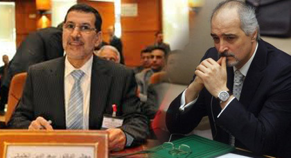 بشار الجعفري يهاجم المغرب ويندد بركوع المغاربة للملك وتقبيلهم يديه