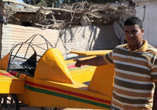 طائرة برشيد مجرد مجسم لطائرة ولا يمكنه الاقلاع