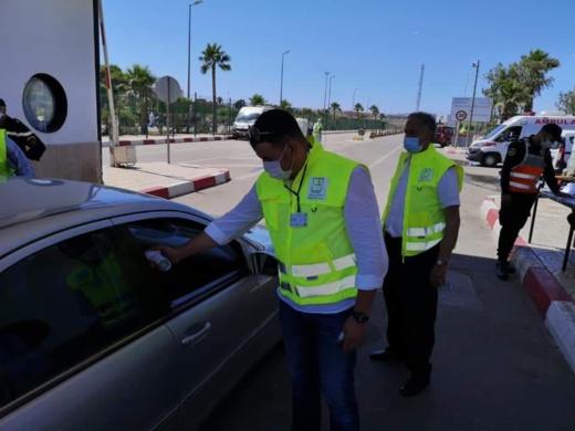 مندوبية الصحة بالناظور تُؤمن عملية عبور المغاربة المقيمين بفرنسا بميناء بني أنصار