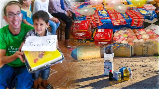 جمعية تويزا للإغاثة توزع 2000 قفة غذائية وتُسلم مواد طبية وأدوية للمستشفيات