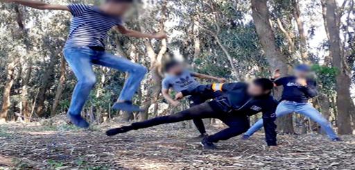 إطلاق سراح ثلاثة شبان من جماعة أركمان صوروا مشاهد تحاكي عمل الشرطة