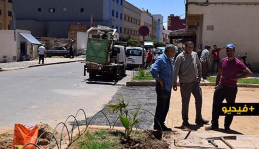 """تجار """"باصو"""" يناشدون السلطات بالتدخل بعد إقدام مستشار سابق ببلدية الناظور على طردهم من السوق"""
