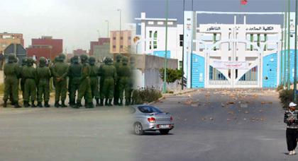 زوبعة بين الطلاب بسبب عودة الهاجس الأمني إلى المغرب