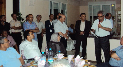 لجنة دعم المرشح الاستقلالي عبد الواحد الفاسي توضح حول اللقاء المنعقد بزايو
