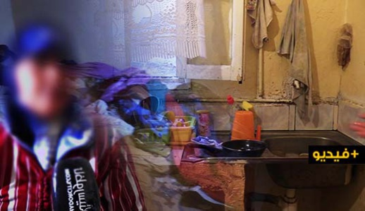 """أسرة متضررة من تداعيات """"كورونا"""" تناشد تسديد وجيبة كراء بيتها قبل طردها بالناظور"""