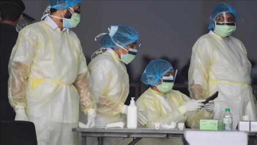 تسجيل 44 إصابة جديدة بفيروس كورونا  ترفع العدد إلى 8581 حالة بالمغرب