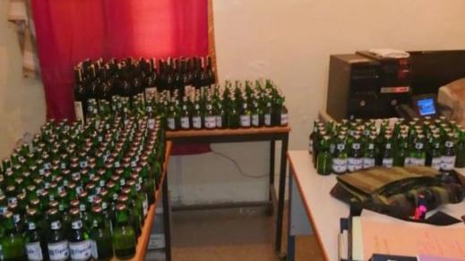 الدرك الملكي بسلوان يحجز كمية من الخمور