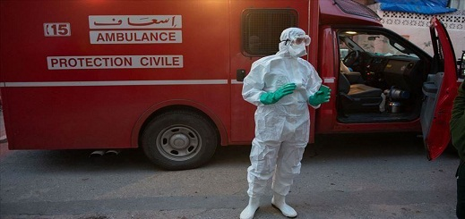 """عدد الإصابات ب""""كورونا"""" يرتفع الى  8734 حالة بعد تسجيل 42 إصابة جديدة"""
