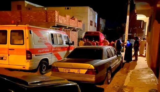 العروي تهتز على جريمة قتل مروعة.. مقتل زوجين على يد مجهولين وإصابة 3 من أقاربهما بجروح