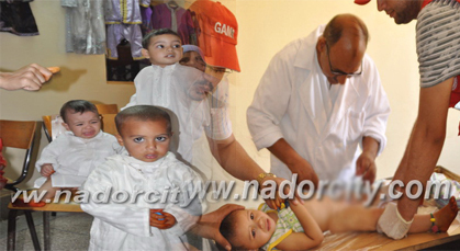 الجمعية الخيرية الإسلامية بزايو تنظم النسخة الخامسة من عملية ختان الأطفال