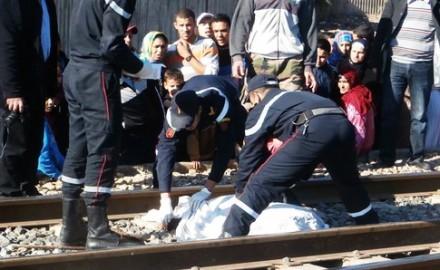 قطار الناظور يقتل شخصا بجماعة سلوان