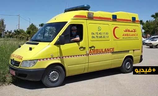 """جمعية بـ""""بني سيدال"""" تنشد تغطية مصاريف """"سيارة إسعاف"""" لضمان استمرار عملها في نقل المرضى"""