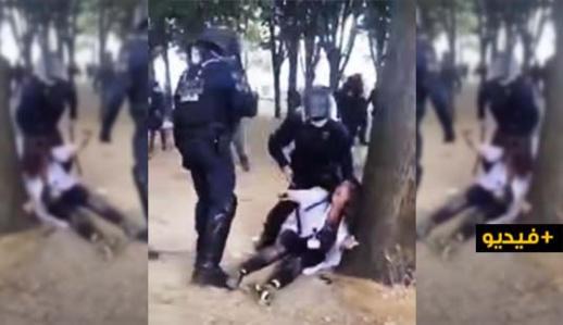 الأمن الفرنسي يعنف الأطر الصحية بطريقة مستفزة وغضب عارم وسط الفرنسيين