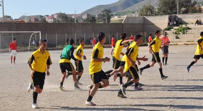 انطلاق المعسكر التدريبي لفريق النهضة الرياضية بزايو