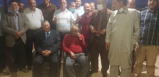 أوشن والفاضيلي يحتفلان بمقعد مجلس المستشارين بخرق تدابير الوقاية من كورونا